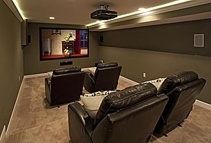 Inspirational Home Theater Design Ideas and Photos - Zillow Digs ...