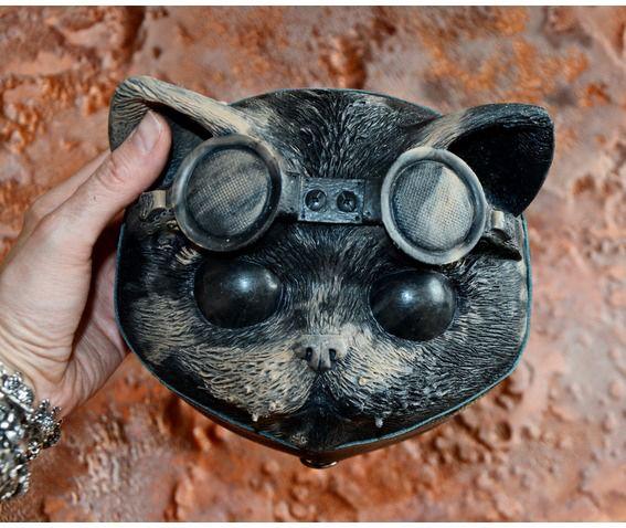 Steampunk cat bag