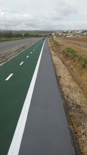 Nuevo carril bici y peatonal Valencina Salteras