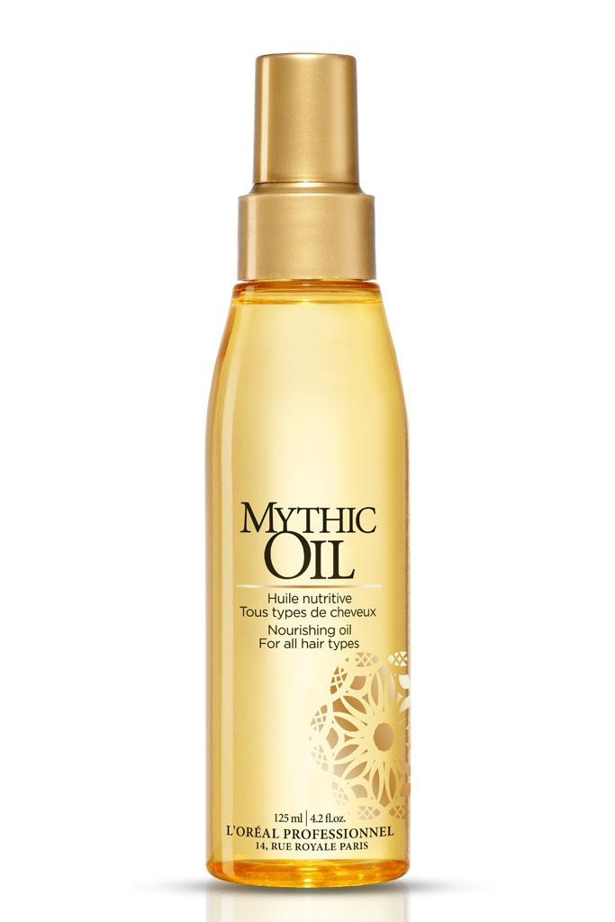 Oro líquido / Mythic Oil, de L'Oréal Professionnel    Con aceite de aguacate y de semilla de uva, esta fórmula aporta una nutrición y un brillo espectacular al cabello. Puedes utilizarlo con el pelo húmedo o seco.
