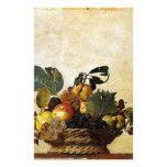 Caravaggio - Basket of Fruit - Classic Artwork Stationery #weddinginspiration #wedding #weddinginvitions #weddingideas #bride