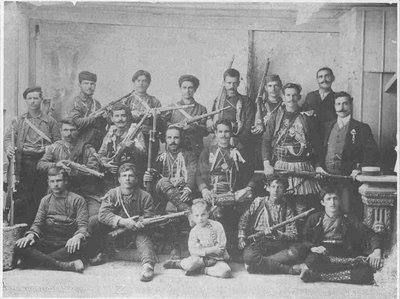 Makedonomaxoi for the liberation of Macedonia from foreign occupation and for reunification with the rest of Greece