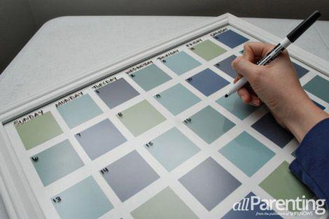 1000 ideas about dry erase calendar on pinterest diy for Remarkable dry erase paint