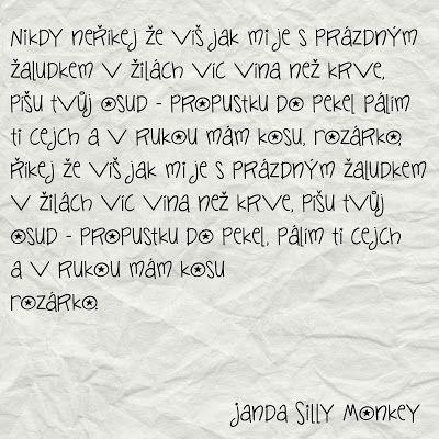 Můj papírový relax: Font, který čeština nezaskočí (25)