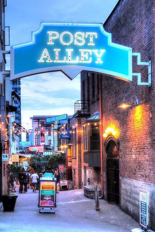 Post Alley, Pike Street Markets, Seattle