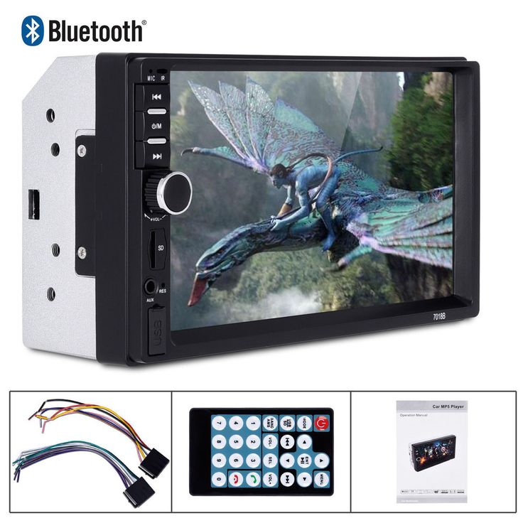"HOT SALE 7"" Touch Screen Car Player Bluetooth Stereo FM Radio USB/TF,& Lots More #UnbrandedGeneric"