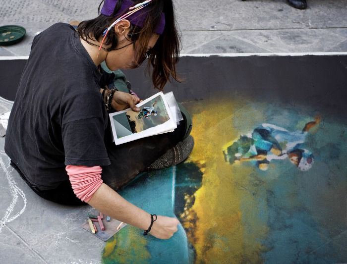 Jomar Ortiz Garcia (Dec 2013) Street Painting