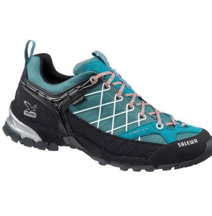 Chaussure Salewa Ws Firetail Gtx Vert - Chaussure pour femme Trek et randonnée - Activités montagne - Boutique Cottay Shop Adhérence, robustesse et technicité en font l'un des modèles phares de la marque Salewa