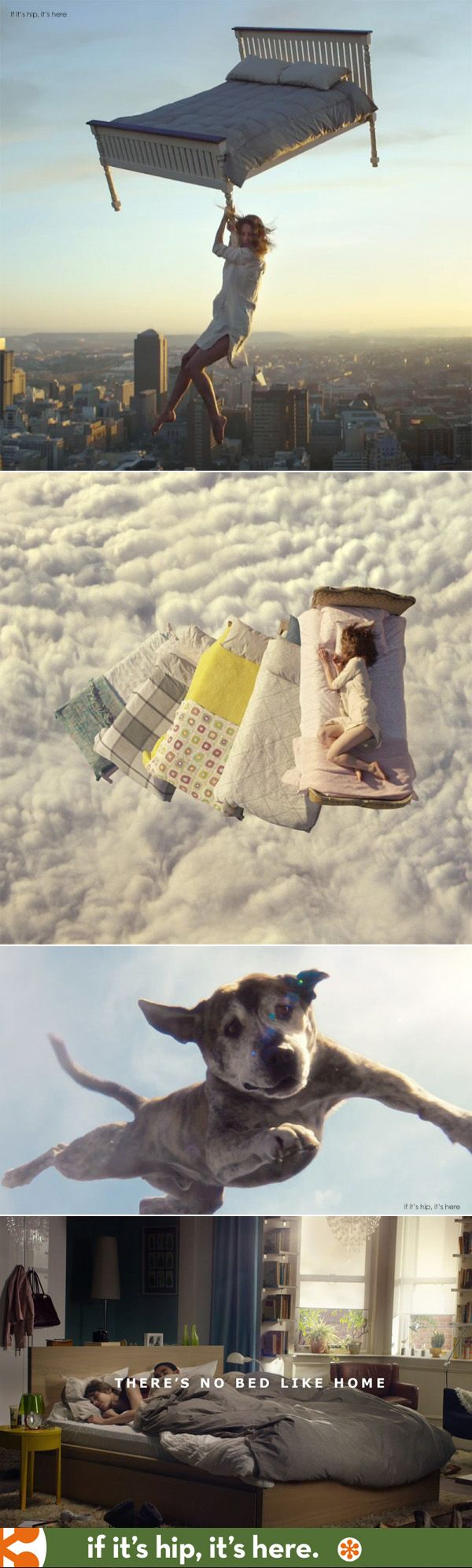 A very cool new spot for IKEA UK. See it and how it was done at http://www.ifitshipitshere.com/ikea-beds-features-airborne-mattresses-flying-dogs-tempest/