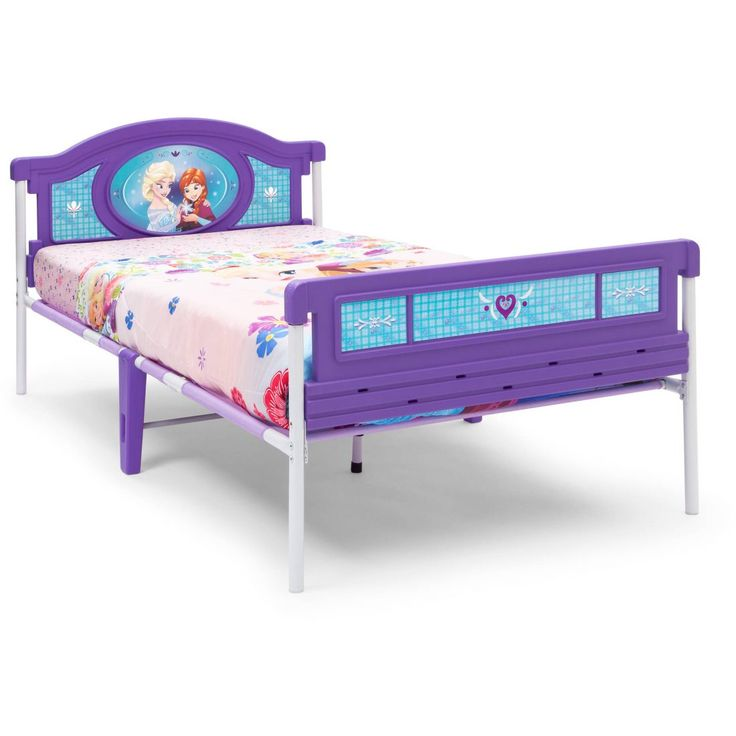 Delta Children Disney Frozen Twin Bed is perfect for any child's room!