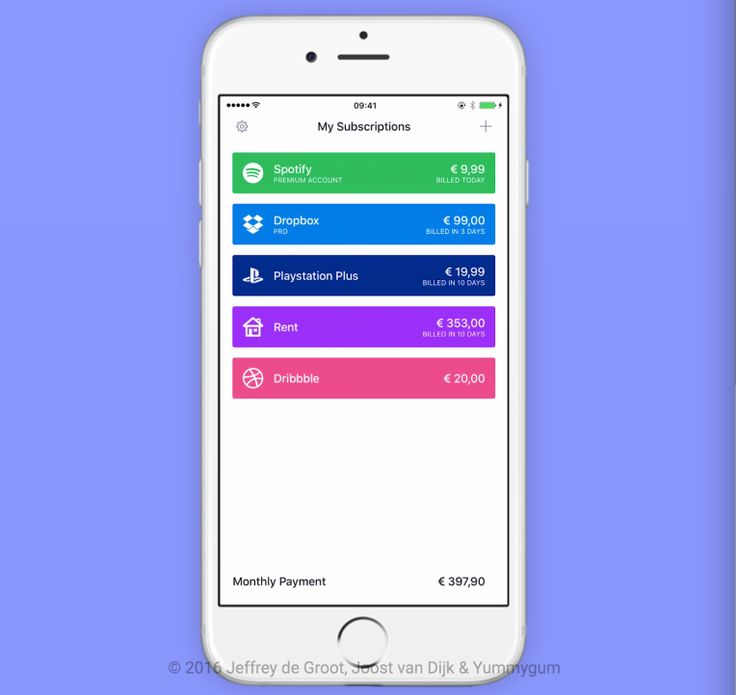 Billy lets you track your subscriptions and bills in a simple app A new app called Billy wants to help consumers more easily manage their subscriptions and bills by keeping track of your fixed costs and recurring payments