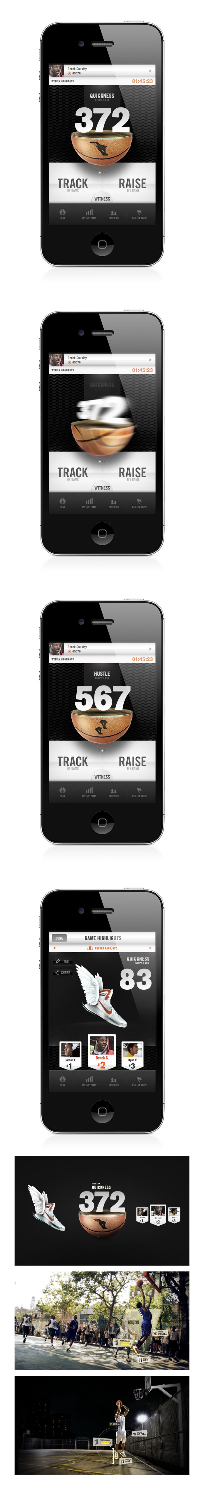 #Nike+ #Basketball #Mobile #App