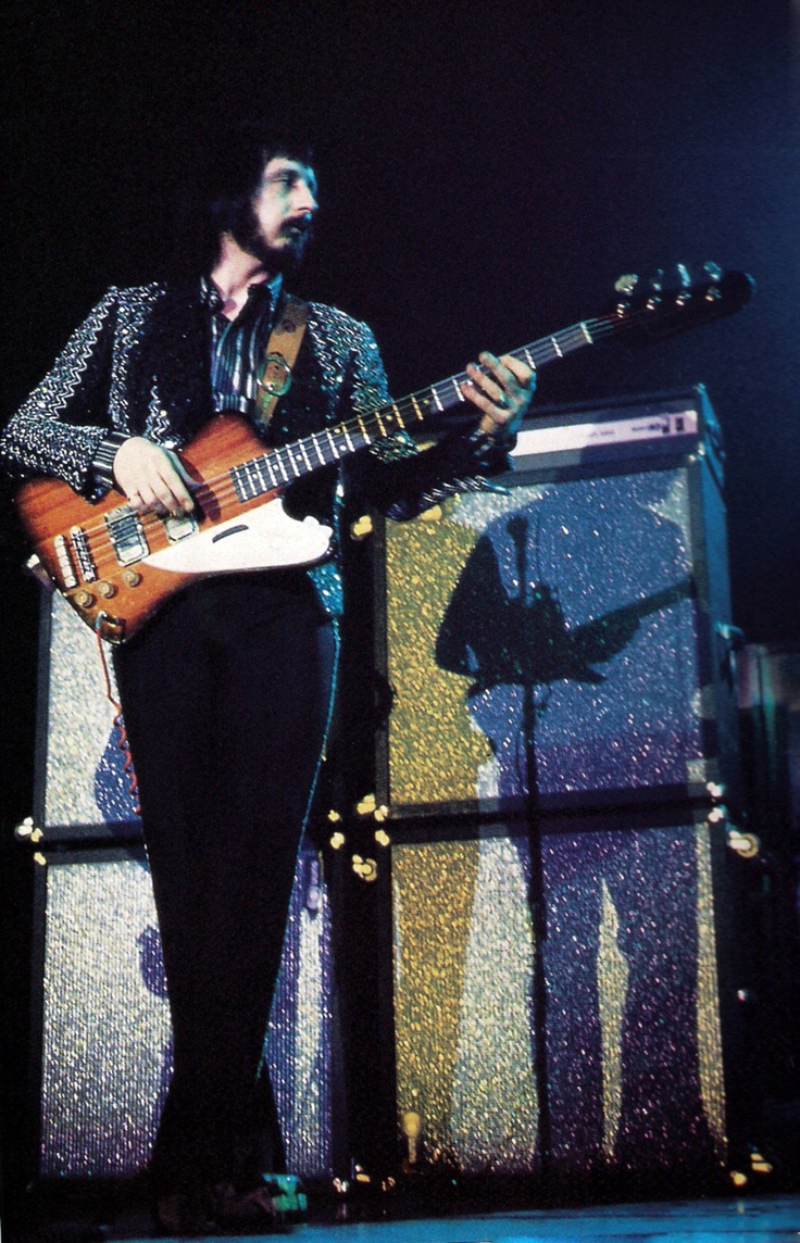 John Entwistle ( The High Numbers, The Who ) bass player.