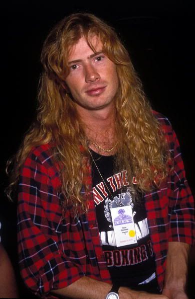 Dave Mustaine. My #1 fave guitar player. :D