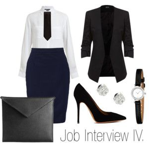 """Job Interview IV."" by stehlikova-alice on Polyvore"
