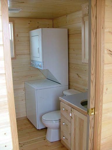 Tiny Bathroom ... Similar to my laundry room plans but no stacker
