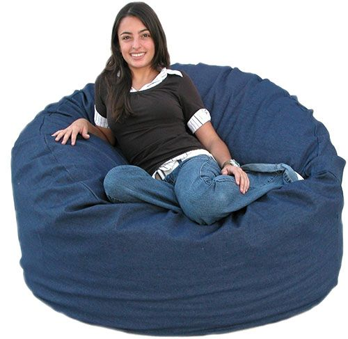Cozy Bean Bag Chair This Is One Of The Best Kids Chairs In