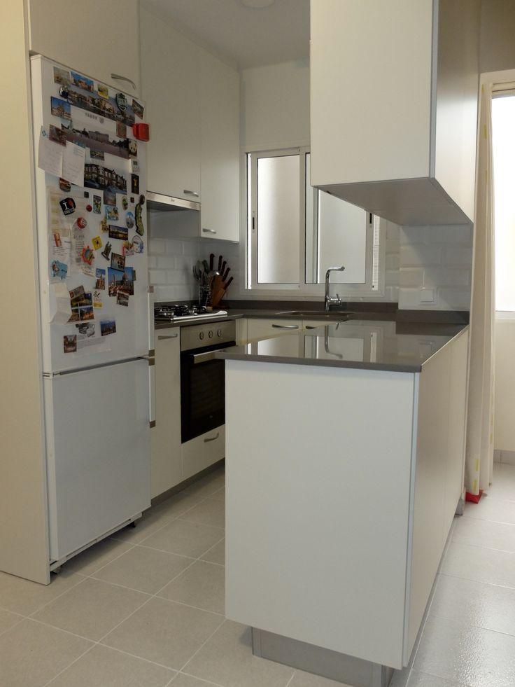 Reforma de cocina peque a en hospitalet - Reforma cocina pequena ...
