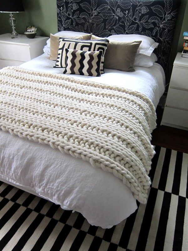 FREE Loopy Mango Throw & Rug pattern on LoveKnitting. Free Knitting Pat...