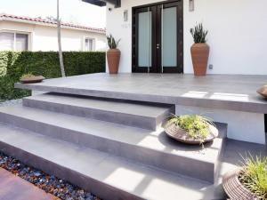 pavimento cotinuo de microcemento en exterior
