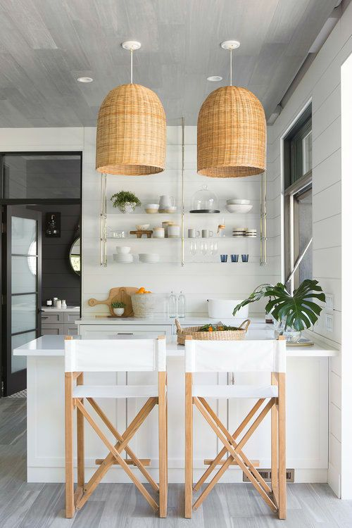 Bohemian and Coastal Style Interior Design