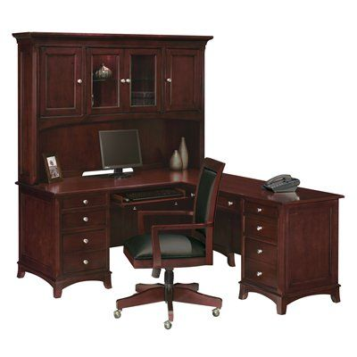 This Is A Clean And Classy L Shaped Desk Furniture