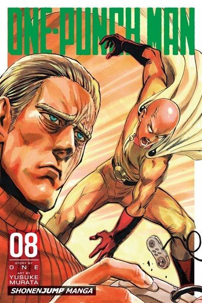Nothing about Saitama passes the eyeball test when it comes to superheroes, from his lifeless expression to his bald head to his unimpressive physique. However, this average-looking guy has a not-so-average problem-he just can't seem to find an opponent strong enough to take on! Class-S hero King is known as the strongest man on earth. Even monsters fear him. But when a mysterious organization sends an assassin after him, the shocking truth about King is revealed!