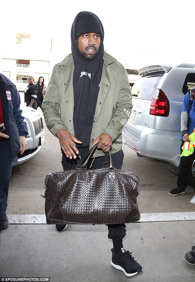 Kanye West Spotted Wearing YEEZY Season 3 Jacket | Highsnobiety