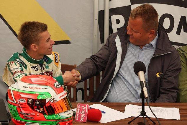 Karol Basz z Fundacją Wierczuk Race Promotion! - Karting - SportoweFakty.pl