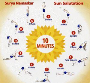 31 best images about sun salutation on pinterest  yoga