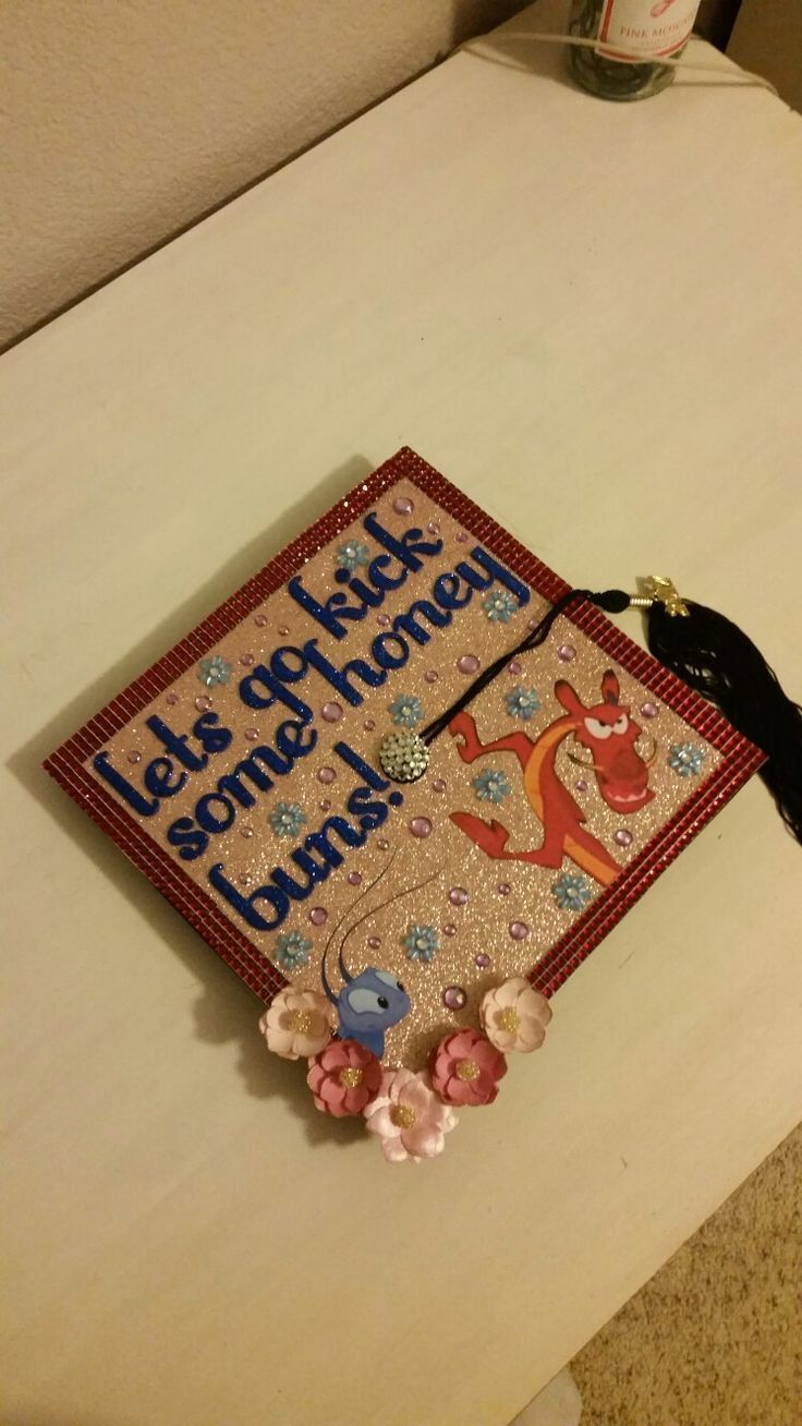 #disneygraduationcap #decoration #graduation #fantastic #disneygr