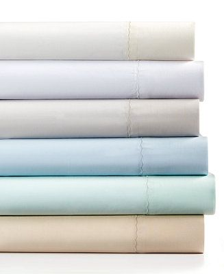 Martha Stewart Collection Sheet Sets, 360 Thread Count Cotton PERCAE - Sleep Solutions - King size in GREY