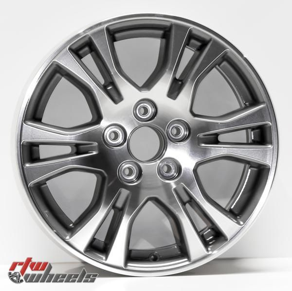 "17"" Honda Odyssey oem replica wheels 2011-2013 Machined Charcoal rims - https://www.rtwwheels.com/store/shop/17-honda-odyssey-oem-replica-wheels-for-sale-machined-charcoal-rims-aly64019u30n/"