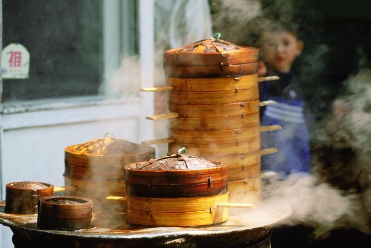 Baozi chinese street food streetfood pinterest