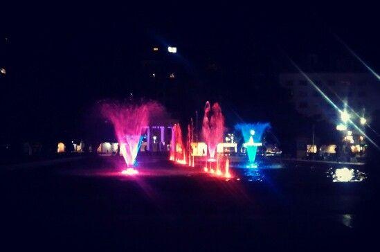 Fuente de Agua de la Plaza de Armas de Osorno, Chile #Plaza #Osorno #Chile #PlazadeArmas