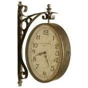 Searching for the perfect double sided clock
