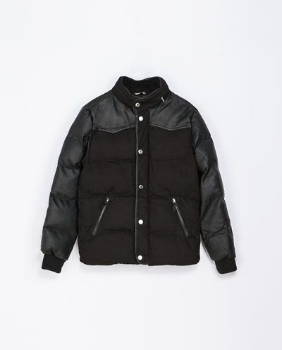 Image 6 of QUILTED JACKET from Zara