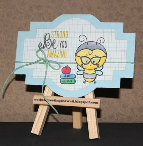 Kitty Bee Designs and Fresh Squeezed Stamps