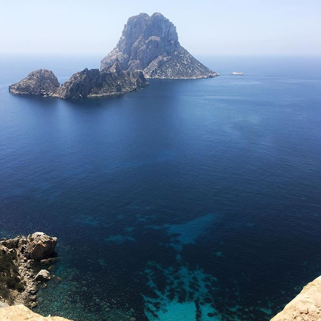 • The sleeping dragon •  #ibiza #sea #esvedrà