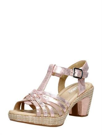 dames sandalen met een hak