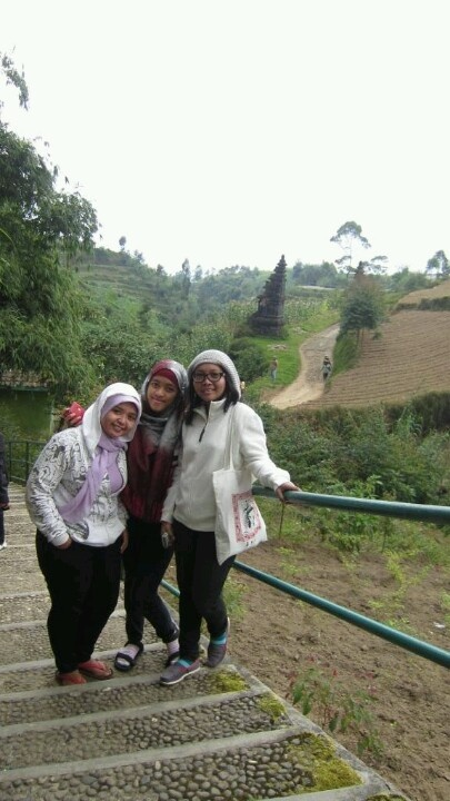 Here, i'm at Dieng Plateu #Indonesia. another place in Dieng Plateu with my fren..