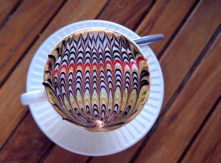 szczypta smaQ: Dekorowanie kawy, inspiracje z Tajlandii