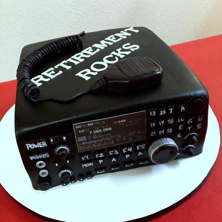 Ham Radio cake!