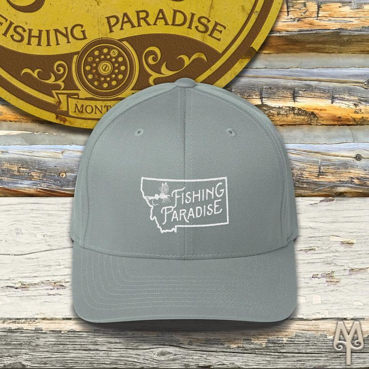 "Montana Treasures (@montana_treasures) on Instagram: ""Montana Fishing Paradise, Fly Fishing Ball Cap...Shop now for a fly fishing lid and hit one of southwest Montana's blue ribbon trout streams!"" :)"