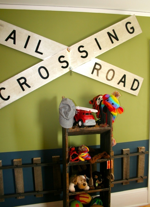 friday finds  bachman s holiday ideas house 2011   Train RoomTrain. 48 best Boys Train Themed Bedroom images on Pinterest   Themed