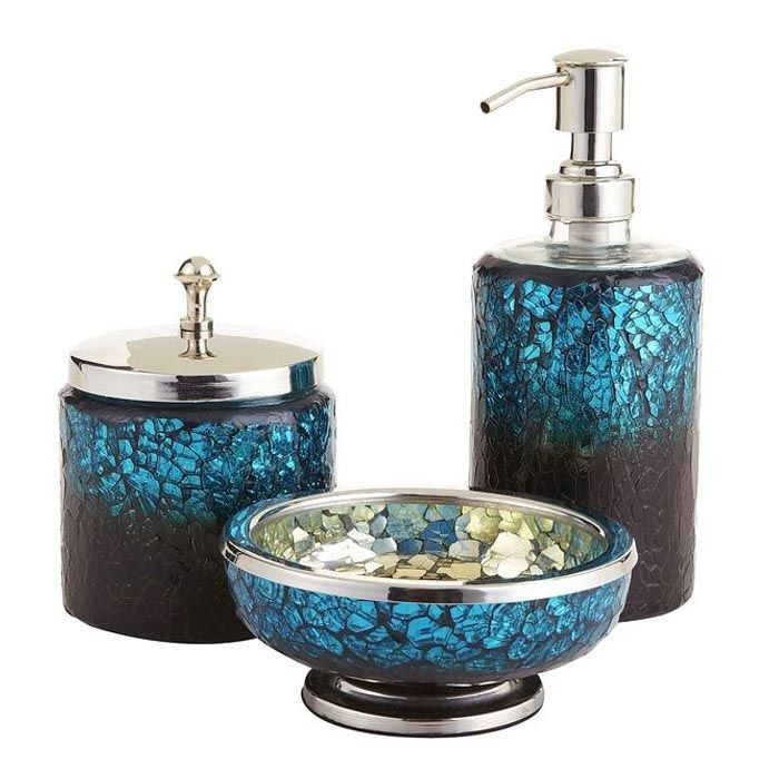 Peacock Themed Home Decor Be Creative Blue Bathroom Accessories Peacock Bathroom Decor Mosaic Bathroom Accessories