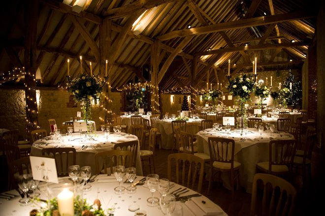 Wedding reception at The Barn at Bury Court | www.rogerbrownphotography.com