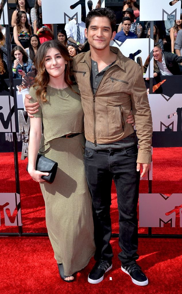 Tyler Posey and Seana Gorlick from 2014 MTV Movie Awards Arrivals | E! Online