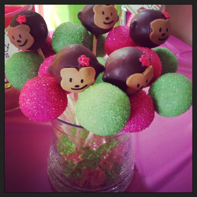 Monkey cakepops
