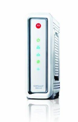 Modem Motorola ARRIS SurfBoard SB6141 DOCSIS 3.0 Cable Modem White #Modem #Motorola